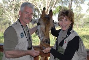 Dan and Liz, Kenya 2006